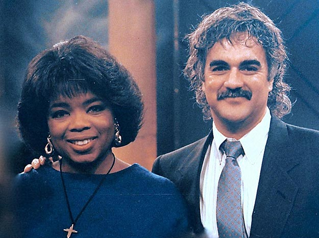 Oprah Winfrey and Jeff Alexander