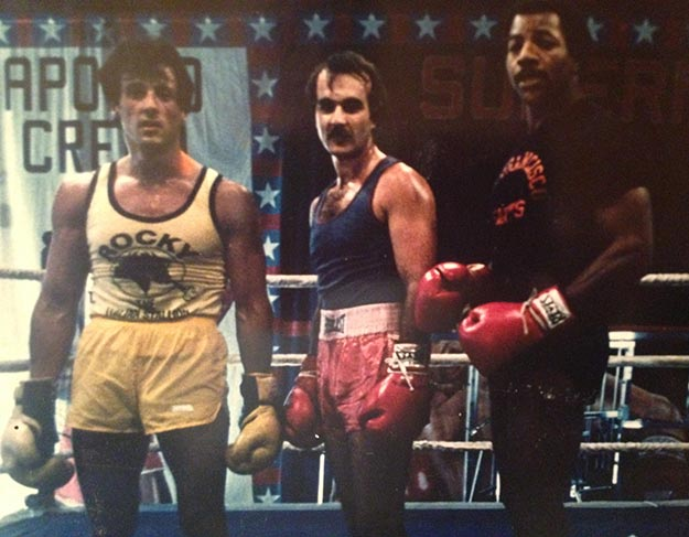 Sylvestor Stallone, Jeff, and Carl Weathers